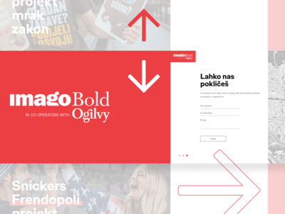 Imago Bold Agency Website