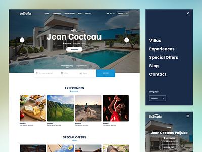 likeistria.com | Croatia logo web website webdesign clean simple design ux ui