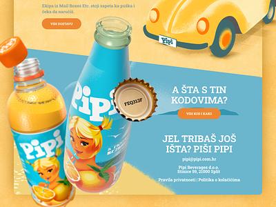 Pipi Butiga | Webshop webdesign simple clean website web design