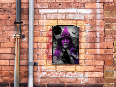 Poster Mockup - Freebie - 4 backgrounds preview photoshop mock highres mockup poster freebie