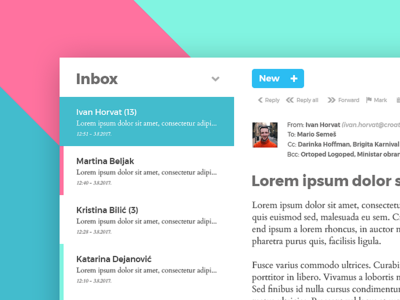 Email client - simple, clean