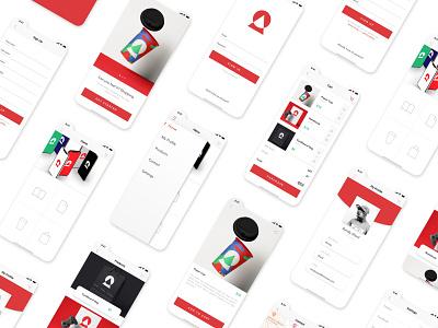 E-Commerce App Design design logo illustraion cart shop e-comerce app mobile uxdesign ux uidesign ui