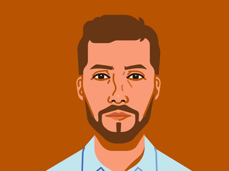 André Portrait portrait illustration