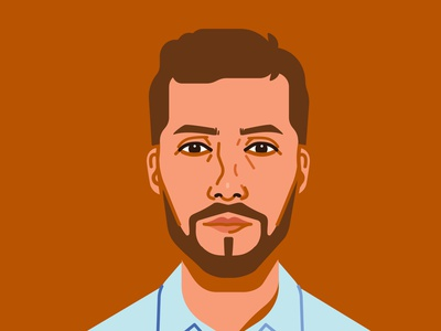 André Portrait portrait illustration