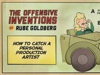 The Offensive Inventions of Rube Goldberg