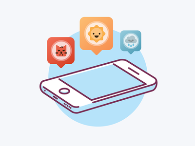 Fueled 27062016 Ap 2x emoji rain cat sun phone icon