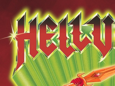 "Hellvetika ""Power of Gayskull"" Print power of grayskull shera heman she-ra he-man"