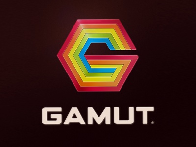 Faceless 80's Corporation Logo branding logo colors rainbow gamut vintage retro 80s