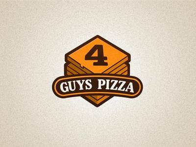 4 Guys Pizza pizza logo 4 guys