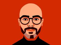 Glenn glenn illustration portrait