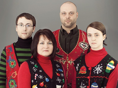 Awkward Christmas Family Photo by Andrew Power - Dribbble