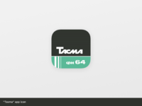 Tasma app icon | Daily UI #005