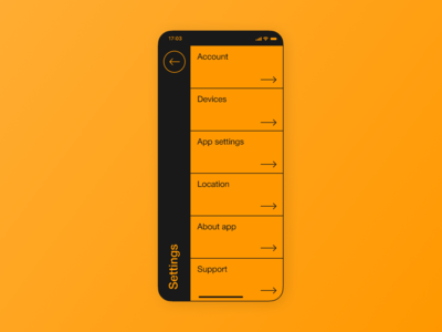 Settings | Daily UI #007