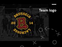 Brussels Lacrosse Logo