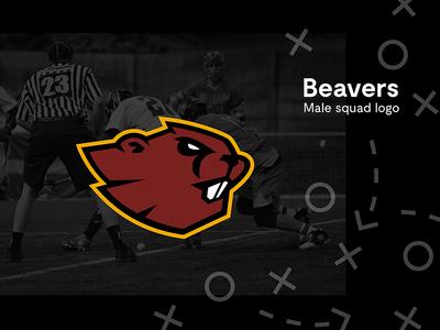 Brussels Lacrosse Men Squad logo men male vector illustrator squad bobcat beaver brussels logo sport lacrosse branding