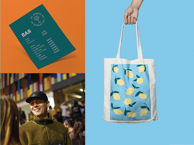 various sun young student event afterwork dj music party summer mojito apéro tote