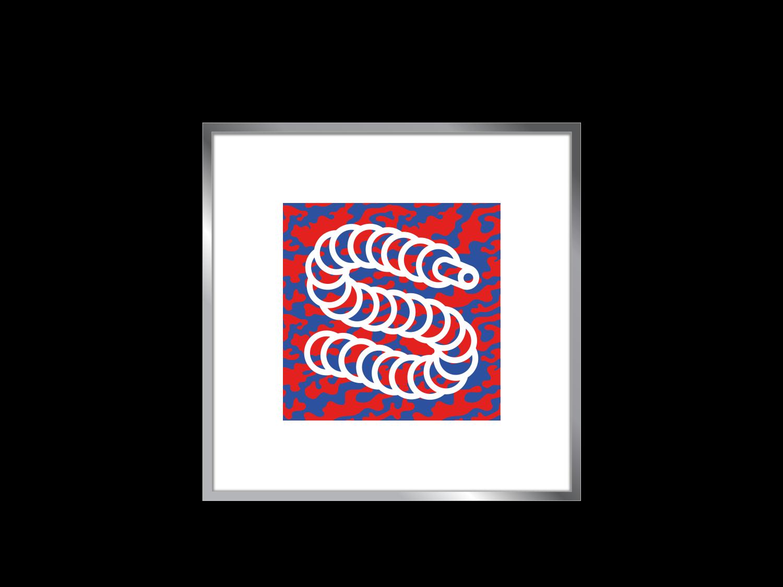 Sashiko Sneaks Poster Frame sneakerhead instagram business reseller hypebeast sneakers design vector illustrator logo