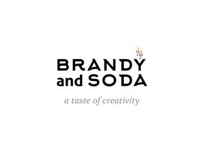 Brandy And Soda logo corporate identity ci branding brand logotype logo