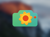 Narcissism icon, ultimate selfie app for OS X