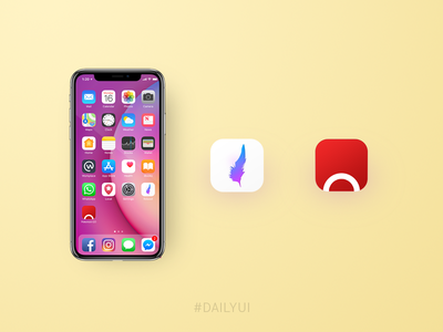 Daily UI 005 - App icon uidesign icon challenge dailyui appicon 005