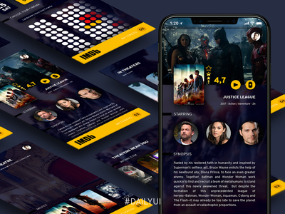 Daily UI 012 - Single Item (e-commerce) cinema design uidesign challenge dailyui 012