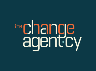 The Change Agent·cy icon typography design logo graphic design branding