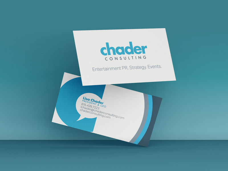 Chader Consulting website web business cards design logo icon graphic design branding