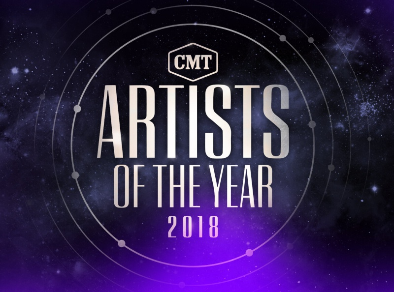CMT Artists of the Year 2018 awards show broadcast design typography logo design graphic design pitch moodboards
