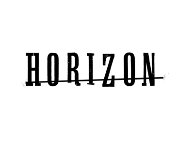 Horizon pitch cmt television broadcast design branding typography design graphic design logo