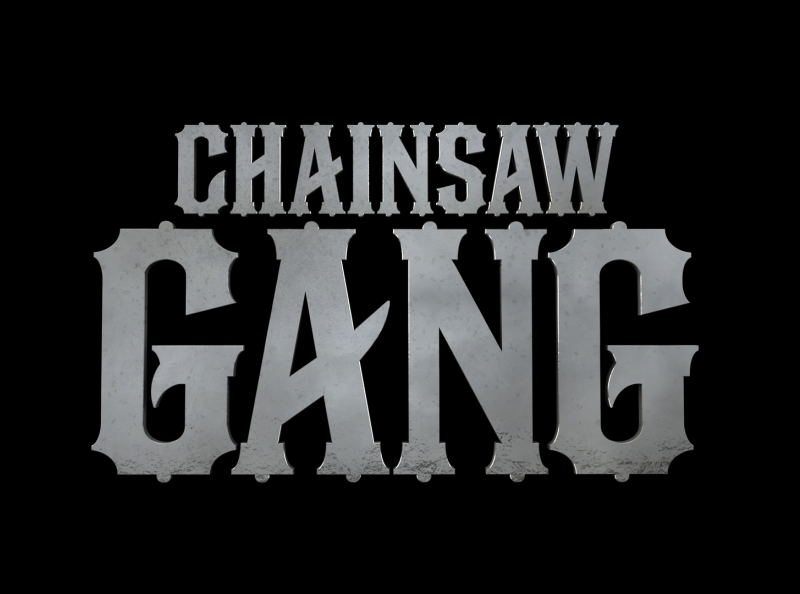 Chainsaw Gang chainsaw cmt branding broadcast design logo typography graphic design design