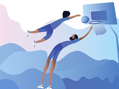 Basketball dribbleartist dribble player ball basketball court basketball player basketball illustration vector art vector artwork adobe illustrator cc adobe vector design