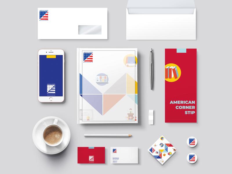 Branding Stationery vector design stationary brandid