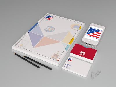 Branding Stationery stationary branding print web vector artwork vector art illustration adobe illustrator cc adobe vector design