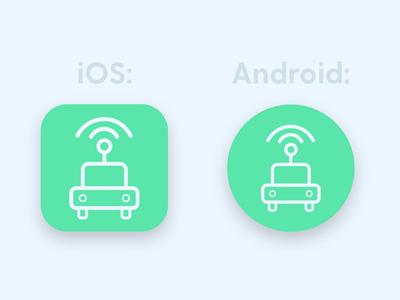Intellimove App Icon - DailyUI 005
