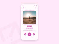 Music Player - DailyUI - 009
