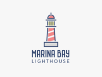 Lighthouse logo - The Daily Logo Challenge - 31