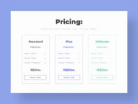 Pricing - DailyUI - 030