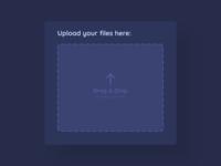 File Upload - DailyUI - 031