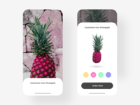 Customize Product - DailyUI - 033