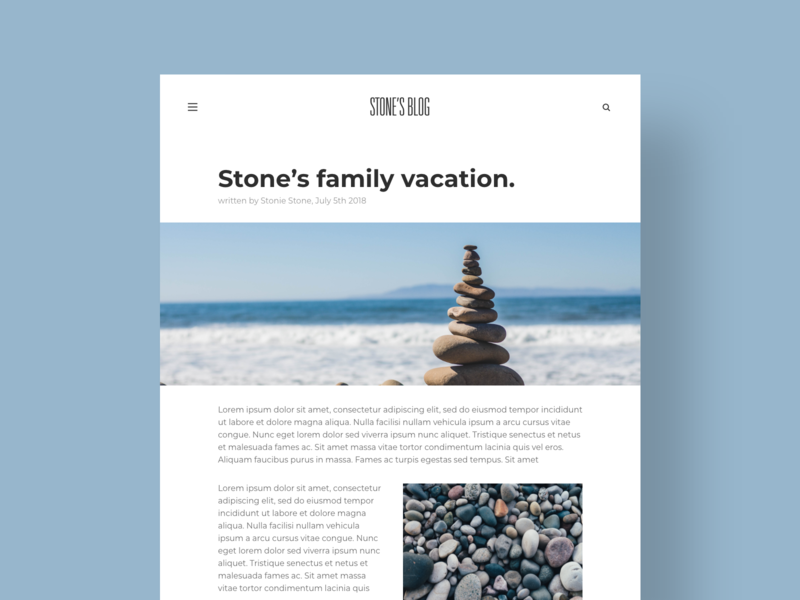 Blog Post - DailyUI - 035 article blog website blog page blog post blogger blog interaction experience interface user dailyui 035 uichallenge dailyuichallenge dailydesignchallenge dailydesign challenge dailychallenge ui dailyui daily