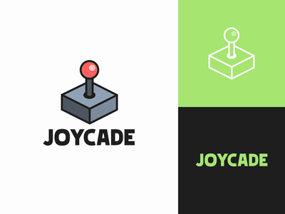 Video Game Arcade Logo - The Daily Logo Challenge - 50 joystick arcade games games game joy arcade logo dailydesign logochallenge dailychallenge challenge dailylogochallenge dailylogodesign dailylogo daily