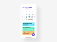 Calendar - DailyUI - 038
