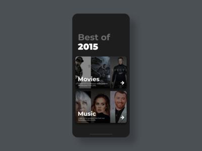 Best of 2015 - DailyUI - 063