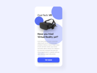 Virtual Reality - DailyUI - 073