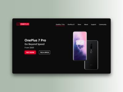 OnePlus Web Concept