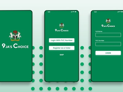 Voting App Design