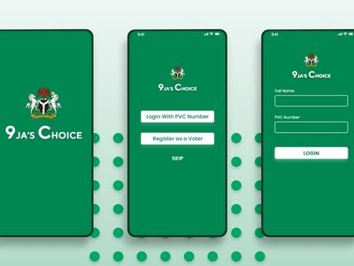 Voting App Design