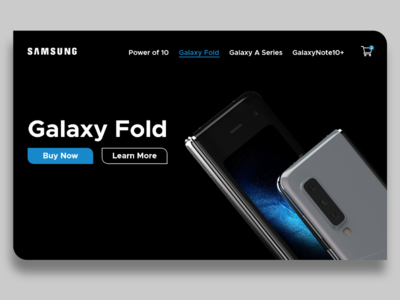 Samsung Web Concept