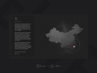 Elite Tea Collection III ux ui branding illustration webdesign web website asia china tea