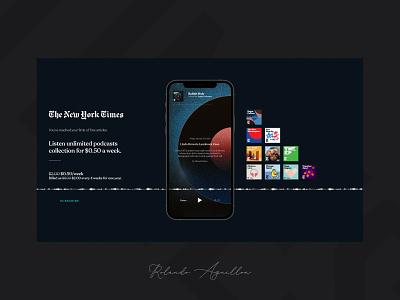 The New York Times IV redesign concept webdesign web website ux ui magazine newspaper new york